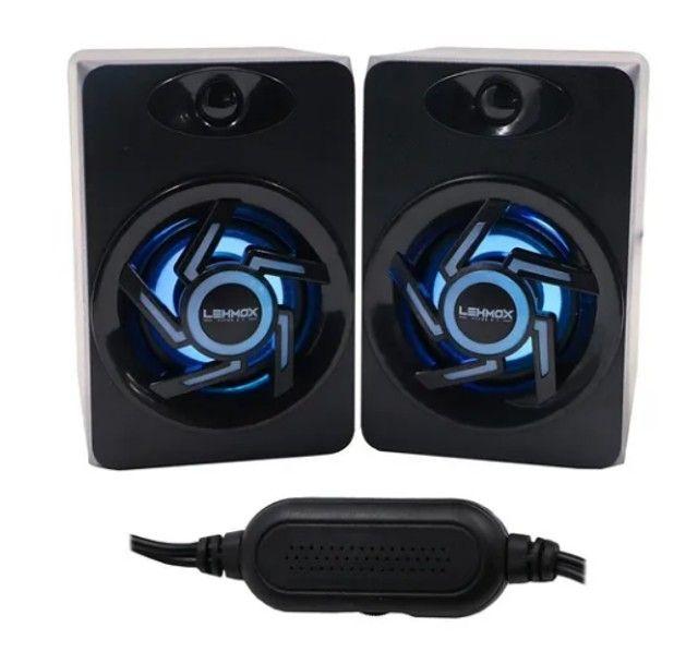 Caixa de som para PC gamer GT S-1 Lehmox - Foto 2