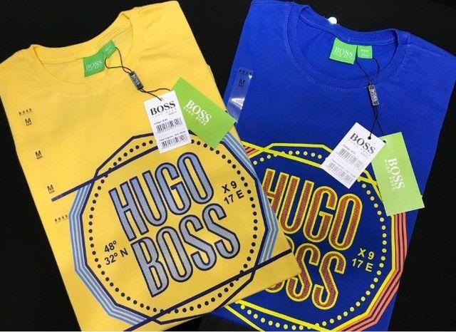 camisetas importadas atacado minimo 10 pcs hugo boss