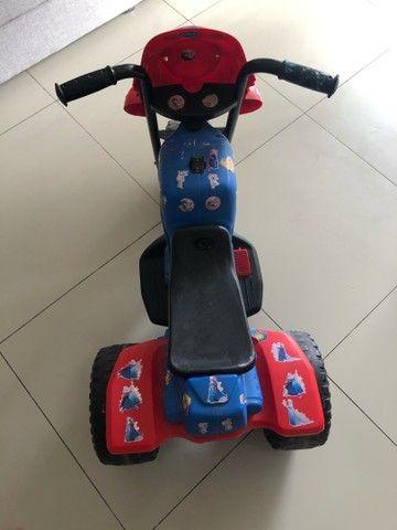 Moto Elétrica infantil Bandeirantes  - Foto 5