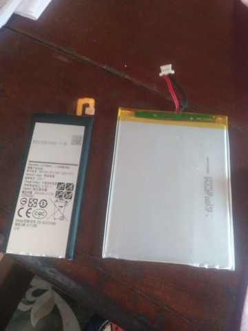 Baterias j5 prime e tablets