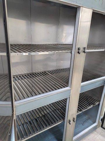 Refrigerador/Congelador Industrial - 100% Aço Inox AISI 430 - NOVO - Foto 5