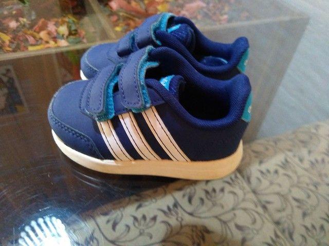 Tênis infantil Adidas original - Foto 3