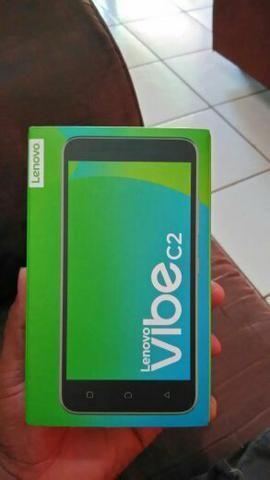 Celular lenovo vibe C2, 16G, 1G RAM Tela 5 HD, 4G Dual chip, R$ 430,00