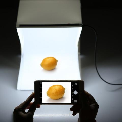 Mini Portátil Dobrável mesa de luz Fotografia