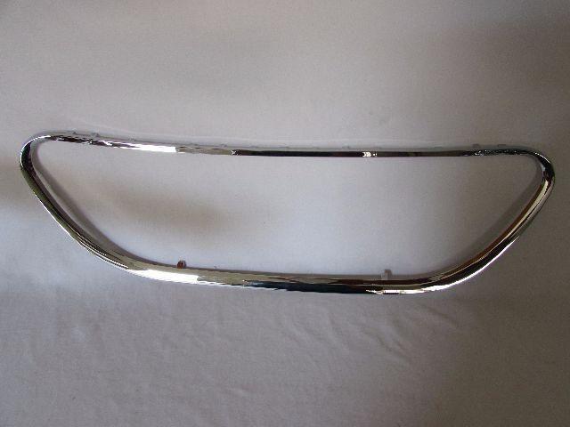 Friso Cromado Grade Dianteiro Parachoque C3 2008 2009 A 2011
