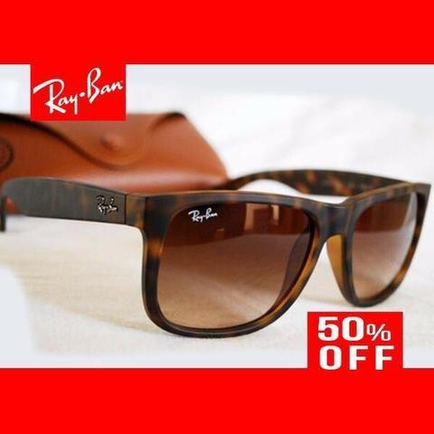 4c7b0650c00ba Óculos Ray Ban Justin RB4165 Várias Cores Original Com Garantia de 1 ...