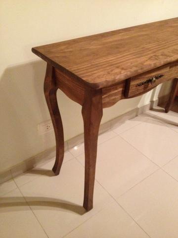 Aparador madeira luis XV na cor rustica - Foto 4