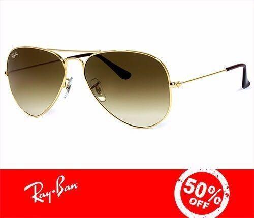 Óculos Ray Ban Aviador RB3025 Várias Cores Original Com Garantia de 1 ano a84b6ae031e88