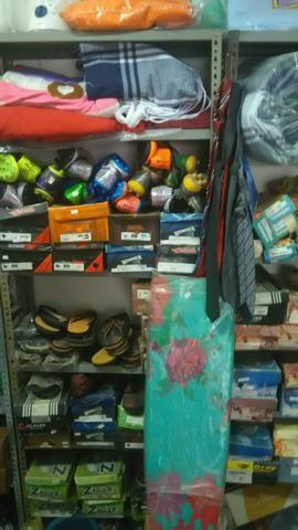 Passo loja de roupas e variedades