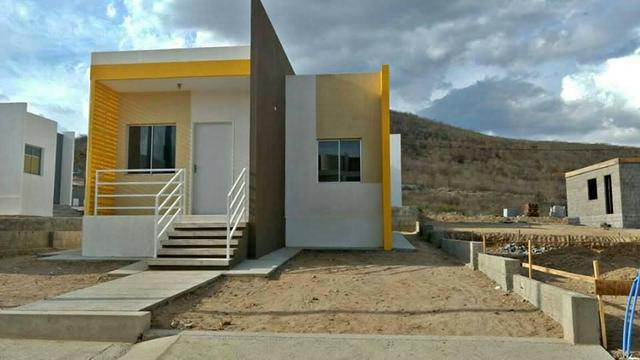 Casa 2 quartos, pronta pra morar no bairro de Rendeiras - Financiamento Caixa