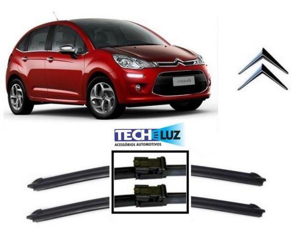 Palheta Limpador Parabrisa Especifica Citroen Peugeot Vw Hyundai Fiat Honda Toyota - Foto 3