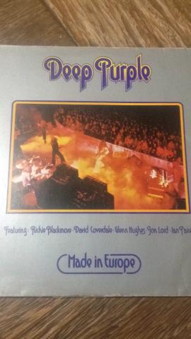 Lp Deep Purple Made in Europe disco vinil