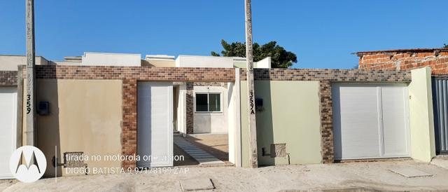 Casa plana no eusébio com terreno grande - Foto 7