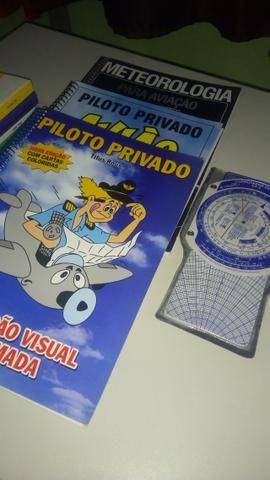 Kit Livros Piloto Privado + Computador de Voo - Foto 2