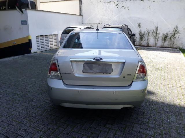 Vendo Ford Fusion 2008 blindado completo cor prata + empresa - Foto 3