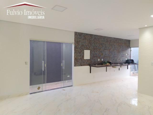 Casa exuberante de Alto Padrão com 02 suítes, 01 closet e churrasqueira - Foto 6