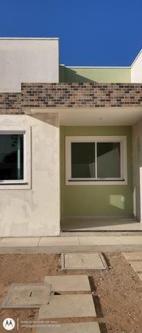 Casa plana no eusébio com terreno grande - Foto 13