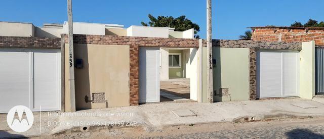 Casa plana no eusébio com terreno grande - Foto 6