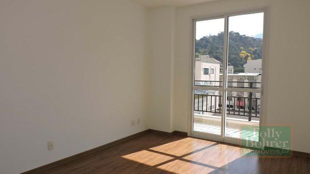 Apartamento novo no Centro com 3 quartos, varanda, 2 vagas de garagem - Foto 11