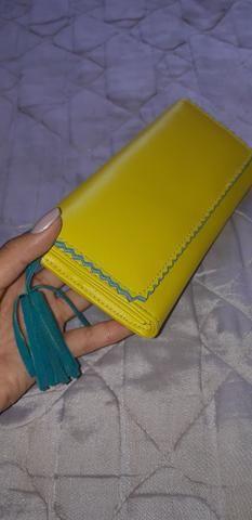 Carteira de mão feminina - Foto 5