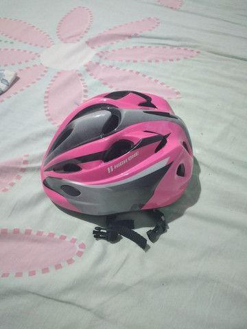 Vendo um capacete dê ciclista - Foto 2