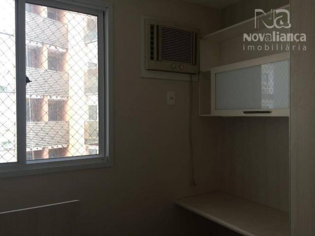 Apartamento com 3 quartos para alugar, 85 m² por R$ 1.500/mês - Itapuã - Vila Velha/ES - Foto 20