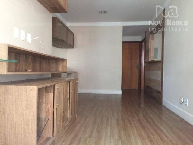 Apartamento com 3 quartos para alugar, 85 m² por R$ 1.500/mês - Itapuã - Vila Velha/ES