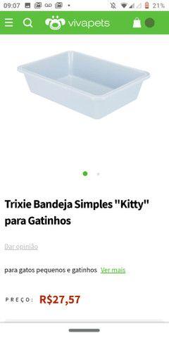 Caixa de areia para gato - Foto 2
