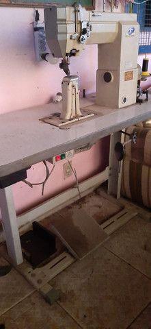 Maquina de Costura de Coluna - Foto 2