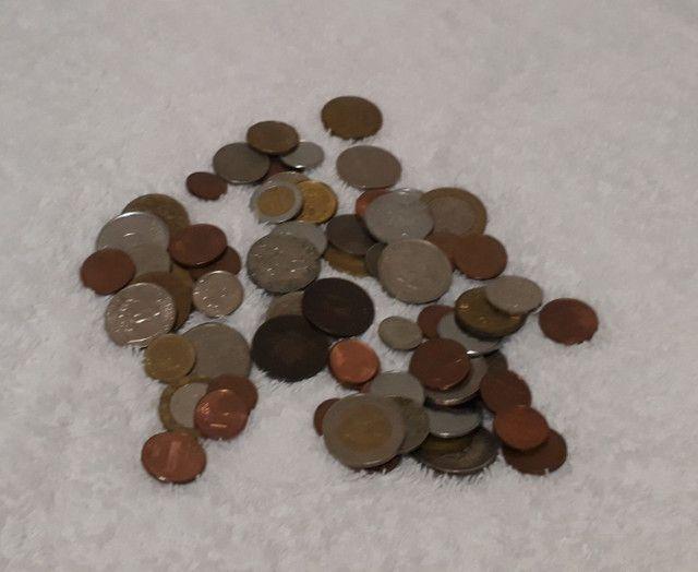 Cédulas e moedas antigas  - Foto 2