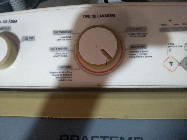 Vendo máquina de lavar Brastemp 11kg - Foto 5