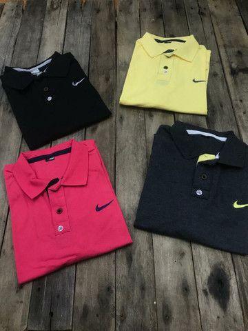 2 Camisas Polo R$ 56,00 no dinheiro