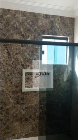 Casa com 3 dormitórios à venda, 100 m² por R$ 400.000 - Extensão do Bosque - Rio das Ostra - Foto 11