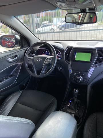 Santa Fé V6 GLS 4x4 7 lugares financiamos e aceitamos carro - Foto 4