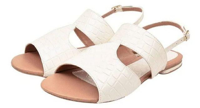 Sandálias femininas tamanhos especiais - Foto 2