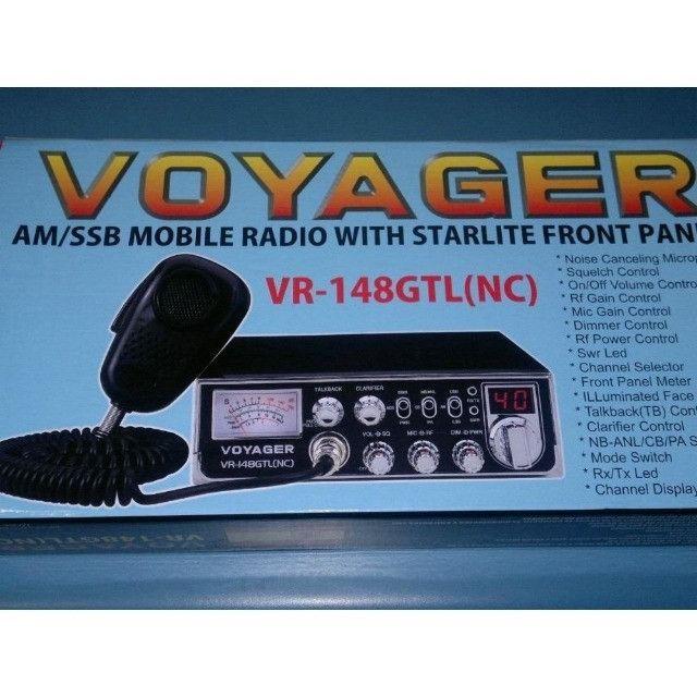 Rádio Px Voyager Vr-148gtl (nc) Até 40 Canais Pronta Entrega - Foto 4