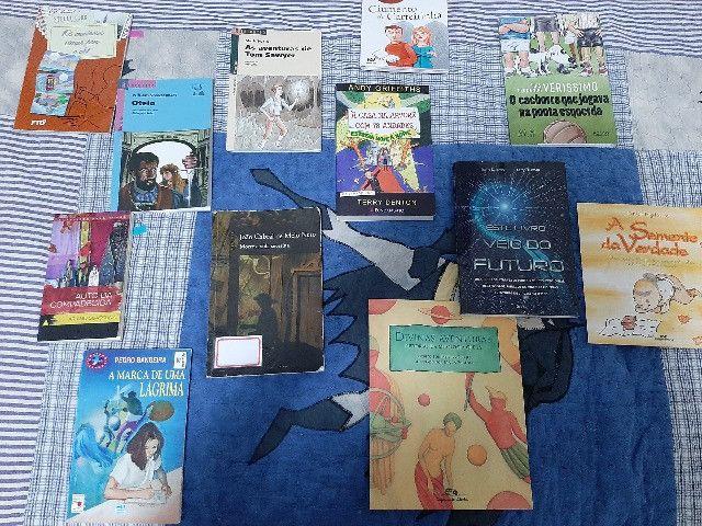 Livros Juvenis e Infantis( preço de cada livro é individual e esta na Descrição)