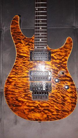 Guitarra Elétrica Tagima Vulcan (âmbar) - Foto 2