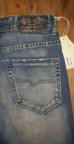 Calça Jeans Diesel N° 38 Original - Foto 4
