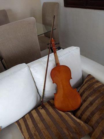 Violino Eagle vk544 tá super concervado - Foto 4