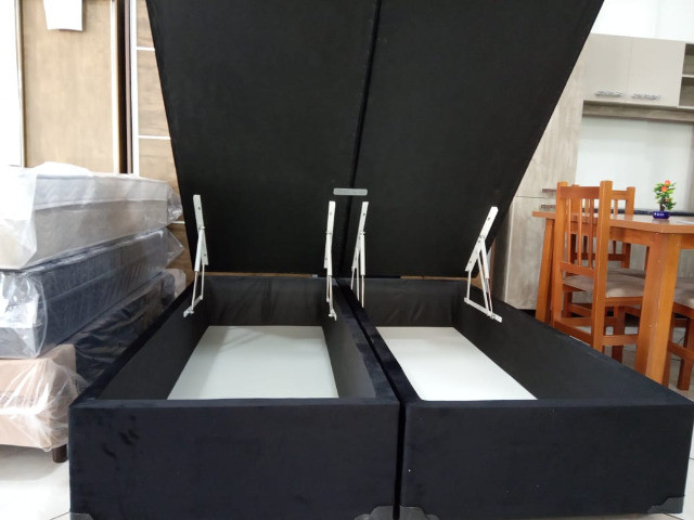 Base baú quenn 1,58 x 1,98 jarezinho 1754 - Foto 2