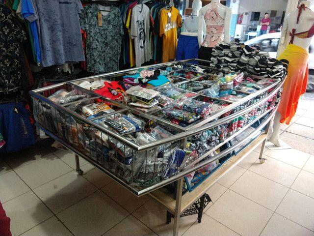 Expositor cromado para loja - Foto 4