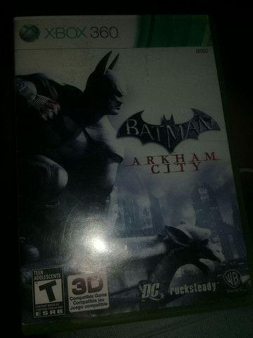 Jogo Batman arkham city original para Xbox 360!  - Foto 2
