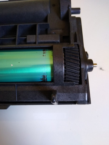 Kit Fotocondutor (Cilindro) Okidata B4600 - Foto 5