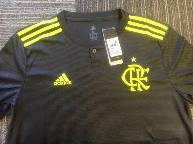 Camisa Masculina Adidas Flamengo III 2019 - Foto 2