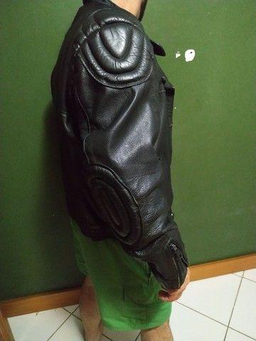 Jaqueta couro motociclista  - Foto 4