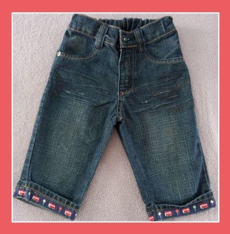 Calça jeans nova da Alphabeto