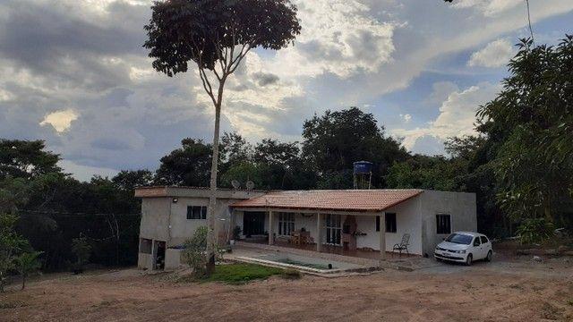 Chácara com Rio Piscina Casa e Reserva em Cristianópolis Goiás - Foto 6
