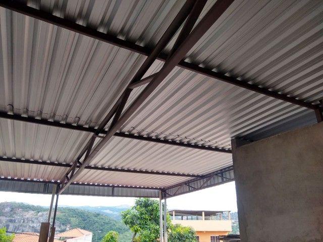 Telhados e estrutura metálica - Foto 2