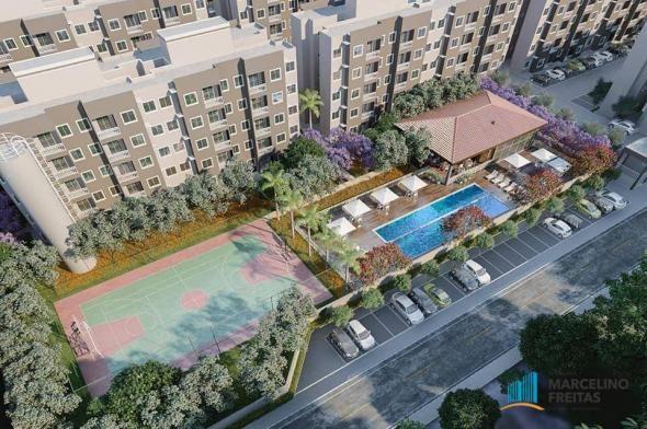 Apartamento com 2 dormitórios à venda, 49 m² por R$ 177.235,00 - Centro - Eusébio/CE - Foto 2